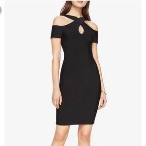 "NWT BCBG MaxAzria ""Ally"" Black Bandage Dress"